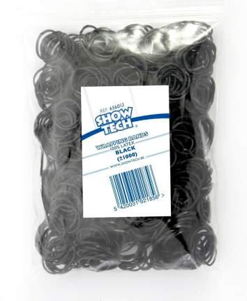 Резинки для животных Show Tech Wrap Bands для папильоток, черные, 1000 шт
