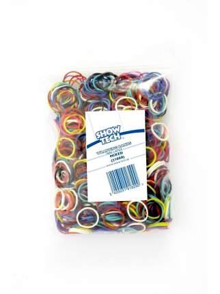 Резинки для животных Show Tech Wrap Bands для папильоток, разноцветные, 1000 шт
