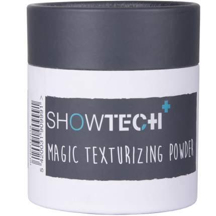 Пудра для шерсти кошек и собак Show Tech Magic Texturing Powder, темно-серая, 100 г