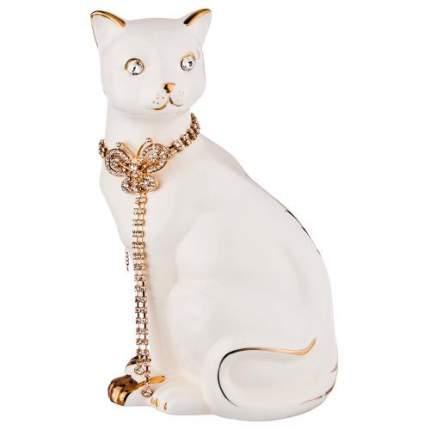 Фигурка декоративная Lefard, Кошка с цепочкой, 13х11х25 см