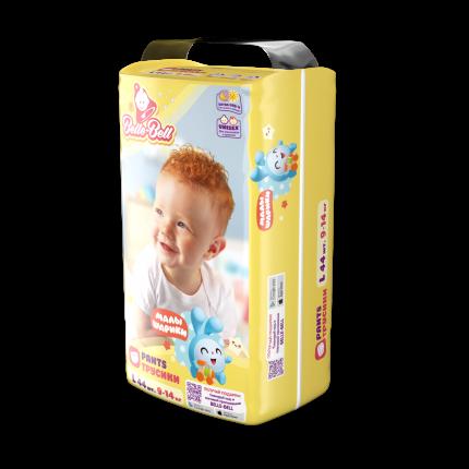 Подгузники-трусики Belle-Bell extra dry+ L (9-14 кг) Малышарики 44 шт