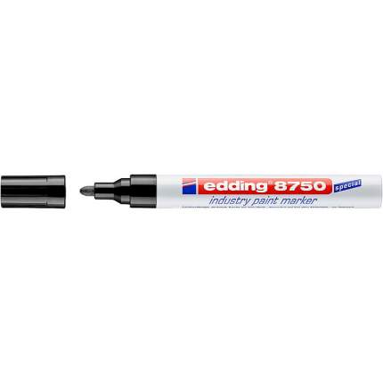 Маркер промышленный лаковый для жирной и пыльной поверхности 2-4 мм Черный E-8750#1