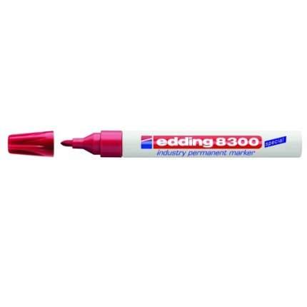 Перманентный маркер Edding промышленный 15-3 мм Красный E-8300#2
