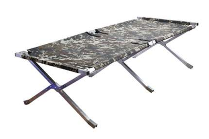 Кровать раскладушка алюминиевая Следопыт PF-CB-07AL в чехле