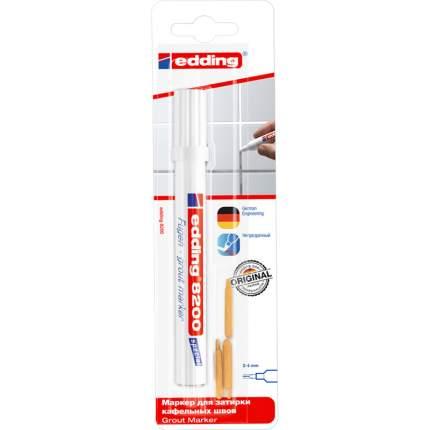Маркер для затирки кафельных швов Edding белый Белый E-8200#1-B#49#RUS