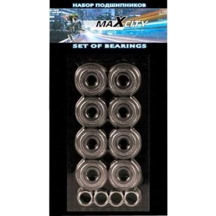 Подшипники СК Max City карбон , ABEC 3 (Хром)