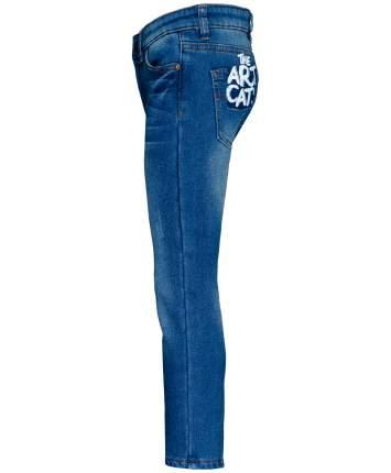 Джинсы для девочек Button Blue, цв. синий, р-р 110