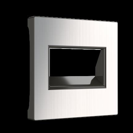Накладка для двойной розетки Werkel WL02-RJ45+RJ45-CP