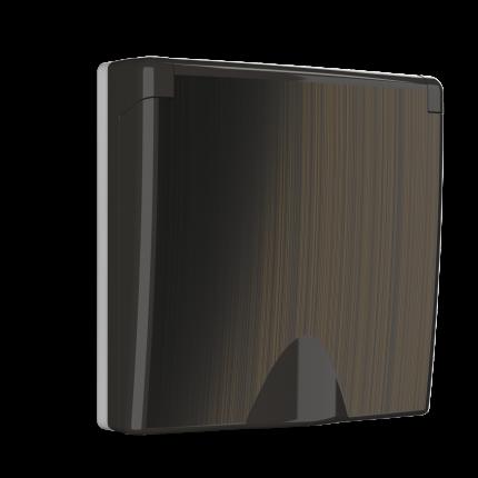 Накладка для розетки Werkel WL12-SKGSC-IP44-CP