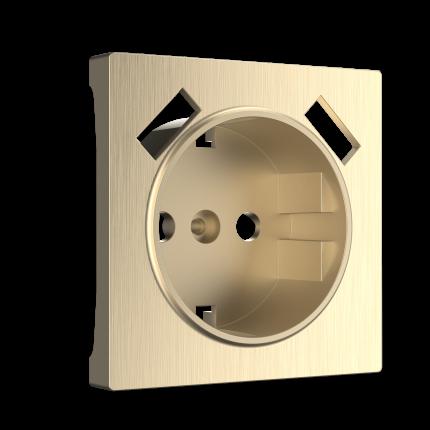 Накладка для розетки Werkel WL10-USB-CP