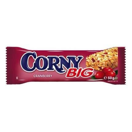 Corny BIG батончик злаковый с клюквой 24 штуки по 50г
