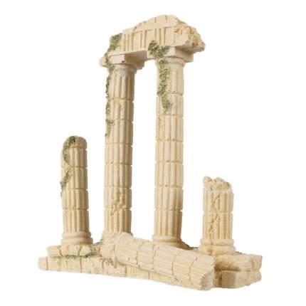 Декорация для аквариума AQUA DELLA Греческие колонны, полиэфирная смола, 19,3х7,1х21,5 см