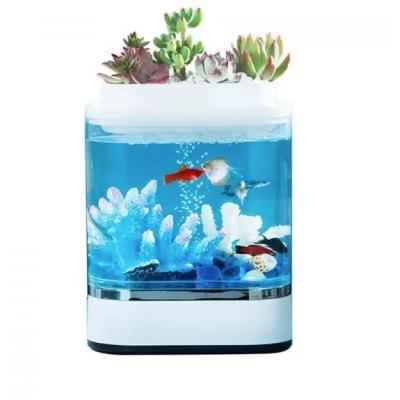 Аква-ферма Xiaomi Geometry Lazy Fish Tank HF-JHYG005