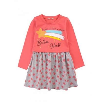 Платье для девочек Bonito kids, цв. персиковый, р-р 104