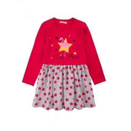Платье для девочек Bonito kids, цв. красный, р-р 98