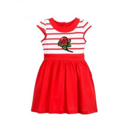 Платье для девочек Bonito kids, цв. красный, р-р 110