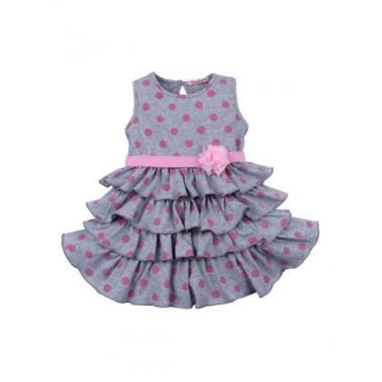 Платье для девочек Bonito kids, цв. меланжевый, р-р 104