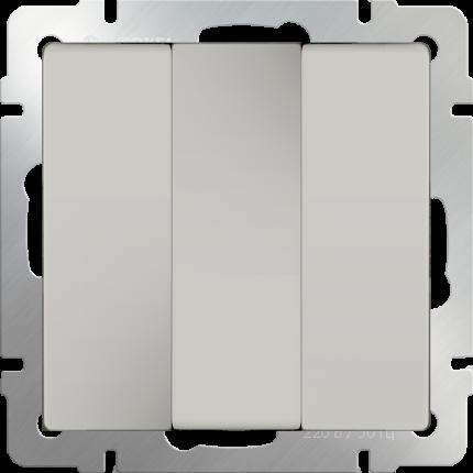 Выключатель Werkel WL03-SW-3G-ivory слоновая кость