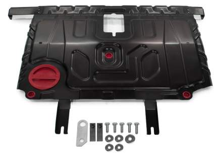 Защита картера и КПП АвтоБроня для BYD F3 I 2005-2014/Toyota Allex I FWD 2002-2006/Corolla