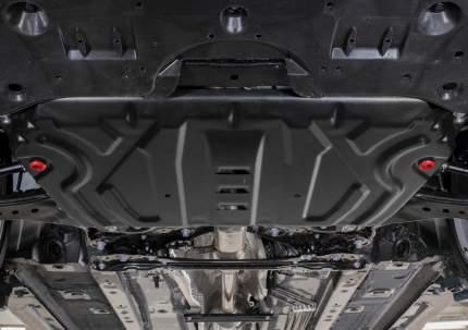 Защита картера и КПП АвтоБроня (увеличенная) для Lexus ES VII 2018-н.в./Toyota Camry XV70