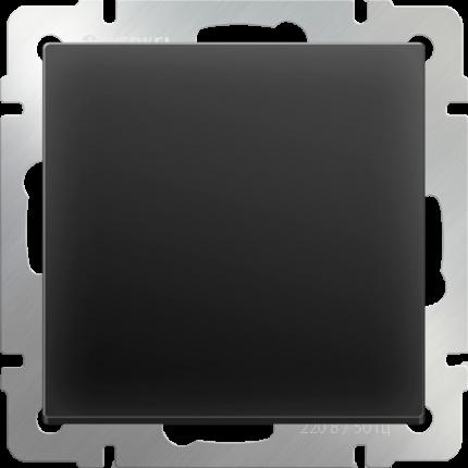 Выключатель Werkel WL08-SW-1G черный матовый