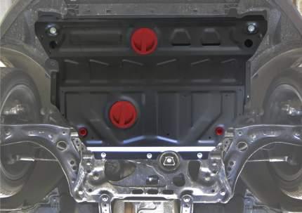 Защита картера и КПП АвтоБроня (увеличенная) для Skoda Octavia III A7 (вкл. авто с Webasto