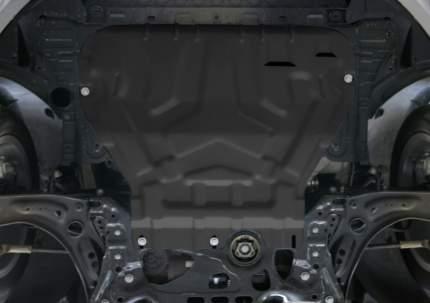 Защита картера и КПП АвтоБроня для Skoda Octavia III A7 2013-2017 2017-н.в., штампованная,