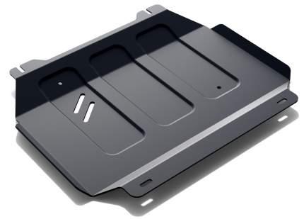 Защита картера и КПП АвтоБроня для Foton Sauvana 4WD 2017-н.в./Tunland 4WD 2017-н.в., штам