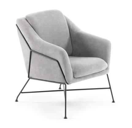 Кресло Brida светло-серое