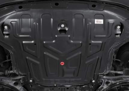 Защита картера и КПП Автоброня Hyundai Creta 16-20 20-, сталь 1.5 мм, 111.02366.1