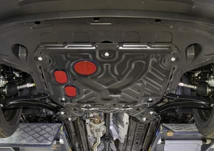 Защита картера и КПП Автоброня (усиленная) Hyundai Creta 16-20 20-, ST 1.5mm, 111.02360.1