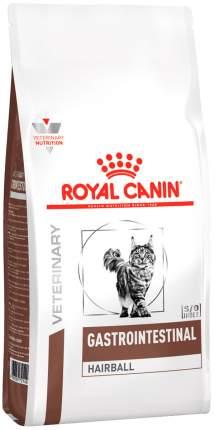 Сухой корм для кошек ROYAL CANIN Gastrointestinal Hairball для вывода шерсти, птица, 0,4кг