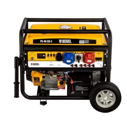 Бензиновый генератор Denzel 946944