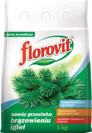Минеральное удобрение магниевое Флоровит от побурения хвои 1 кг