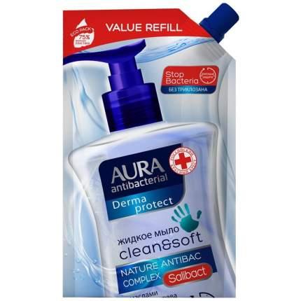 Антибактериальное дезинфицирующее жидкое мыло антибактериальное Derma Protect 500мл
