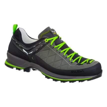 Ботинки Salewa Mountain Trainer Leather Men's, smoked/fluo green