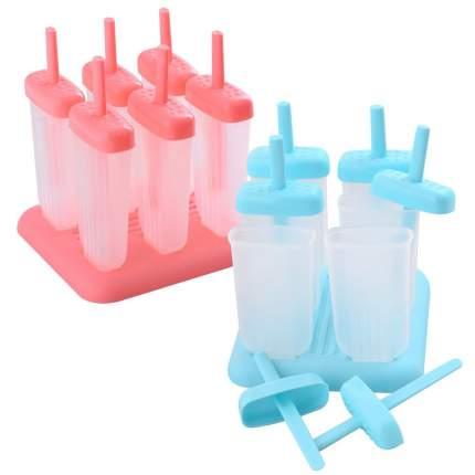 Формы для мороженого Айс. 6 шт. 2цв.