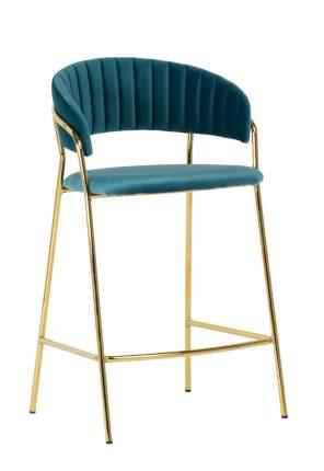 Полубарный стул Bradex Home Turin FR 0162, бирюзовый