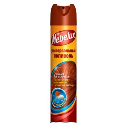 Полироль Mebelux для любых поверхностей