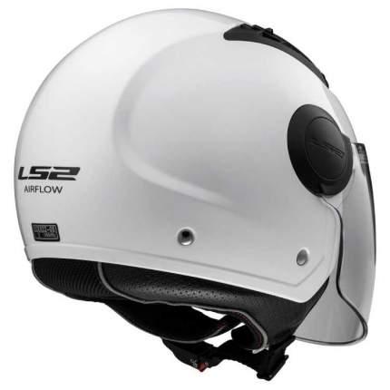 Шлем LS2 OF562 AIRFLOW LONG Gloss White, размер XL