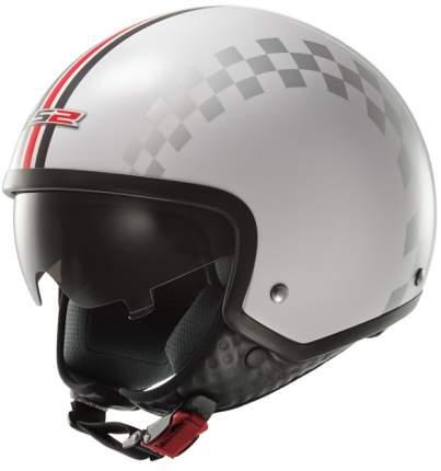 Шлем LS2 OF561 DINOCO White, размер M