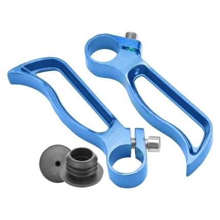 Рога на руль BLF-C4 алюминевые, Синий/440028