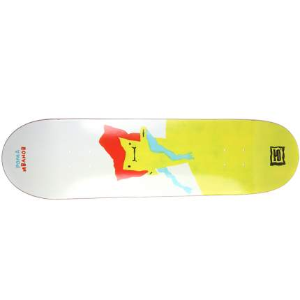 Дека для скейтборда Юнион Иванов (Ivanov) 32,5′′X8,25′′ (82.55 X 20.96 см) high (+ шкурка)
