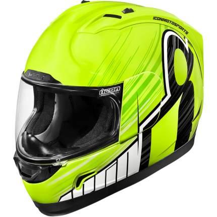 Шлем ICON ALLIANCE OVERLORD Hi-Viz, размер XL