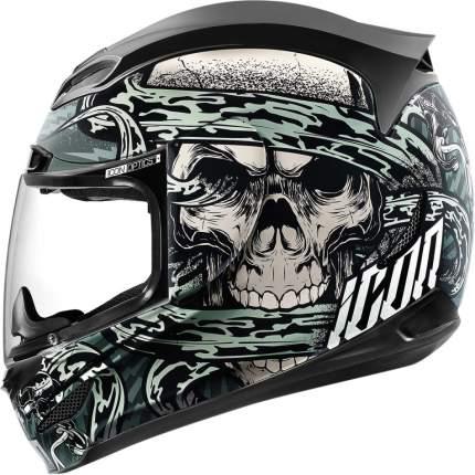 Шлем ICON AIRMADA VITRIOL GREY, размер M