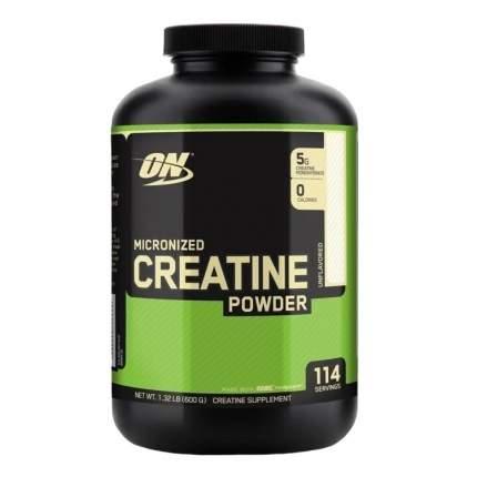 Креатин Optimum Nutrition Micronized Creatine Powder, 600 г, unflavoured