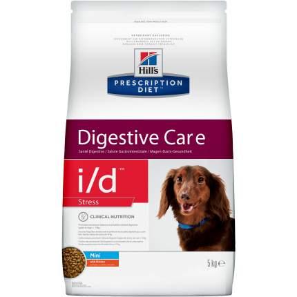 Сухой корм для собак Hill's Prescription Diet Digestive Care i/d Stress Mini, курица, 5кг