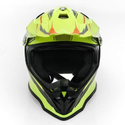 Шлем HIZER B6197 #2 yellow, размер L