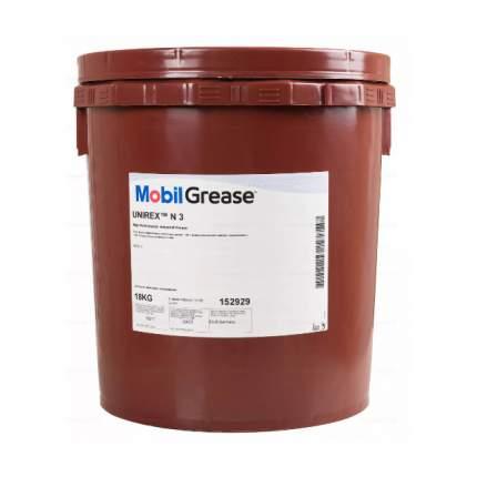 Смазка MOBIL Unirex N 3 пластичная NLGI 3 18 кг