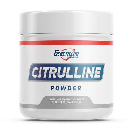 Citrulline Powder GeneticLab Nutrition, 300 г, unflavored